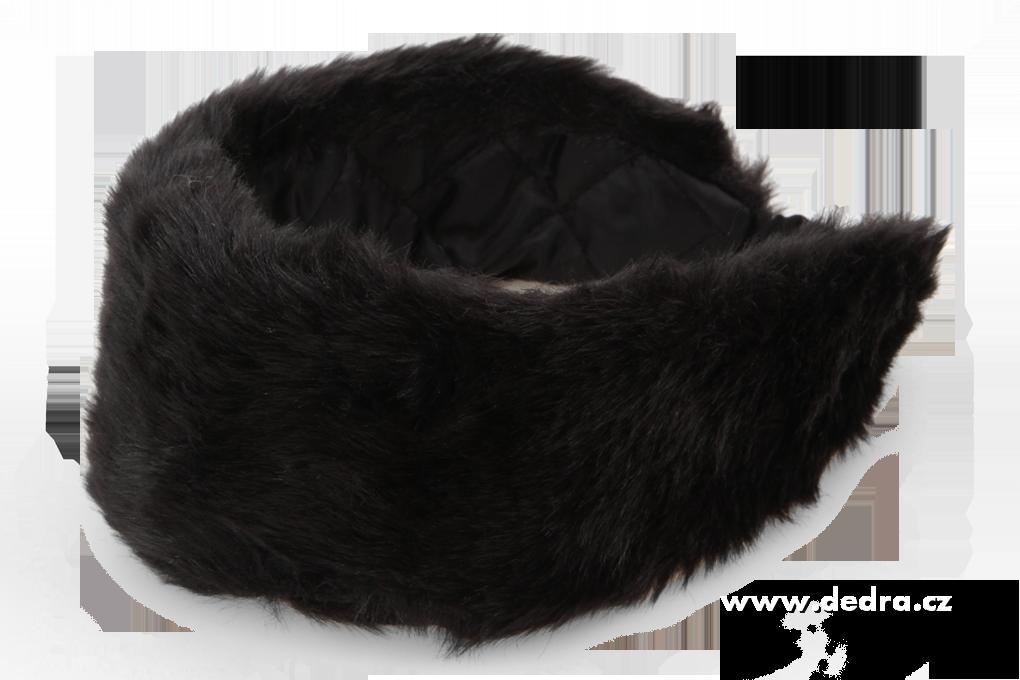 deb0d95e619 Čelenka z umělé kožešiny - černá - Vaše DEDRA - oficiální stránky