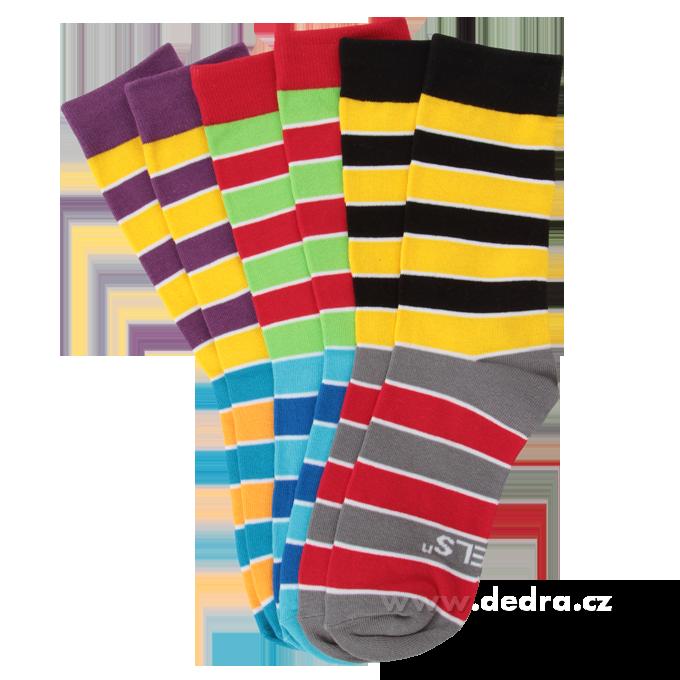 3 pack ponožky REBELS