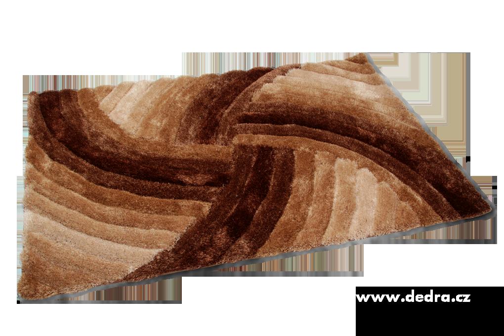 SHARON 3D KOBEREC, přírodní, 140x200 cm