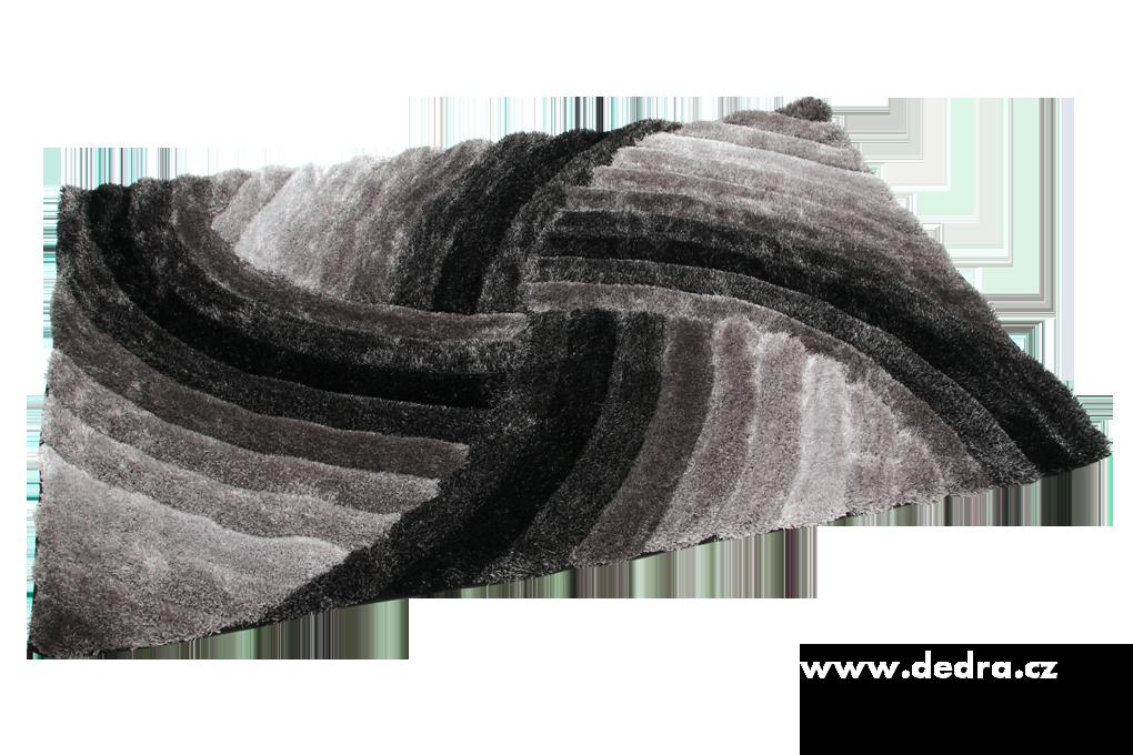 SHARON 3D KOBEREC, antracit.,200x300 cm