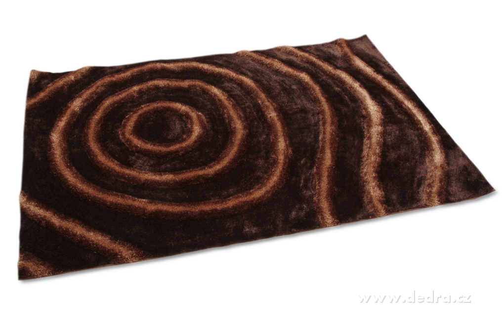 SHARON 3D KOBEREC, čokoládový,140x200cm