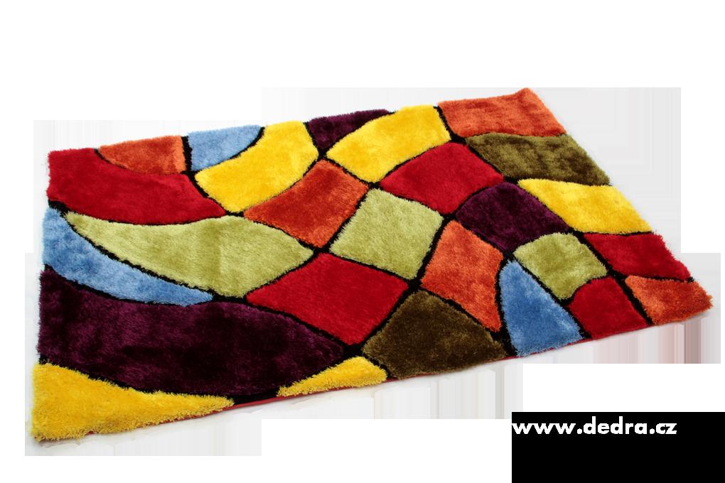 SHARON 3D KOBEREC, multicolor,140x200cm