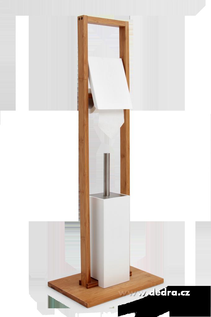 Toaletní sadadržák toalet.papíru+ WC kartáč