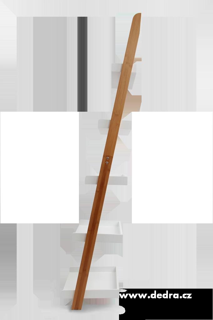 DA7191-Oporný päťposchodový regál z bambusu GoEco