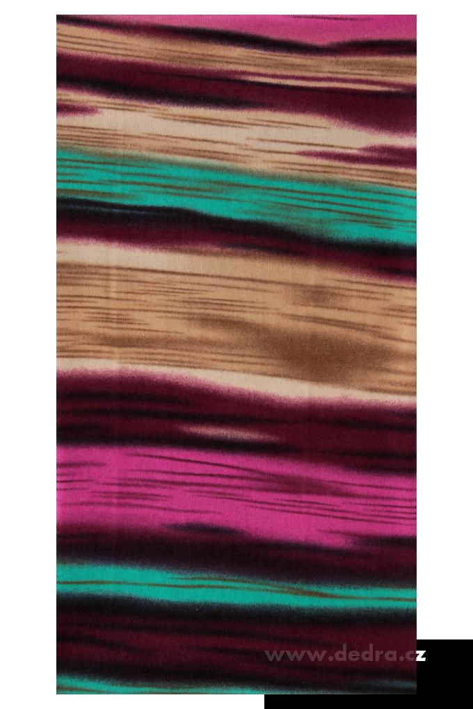 Multifunkční šátek, pruhy multicolor