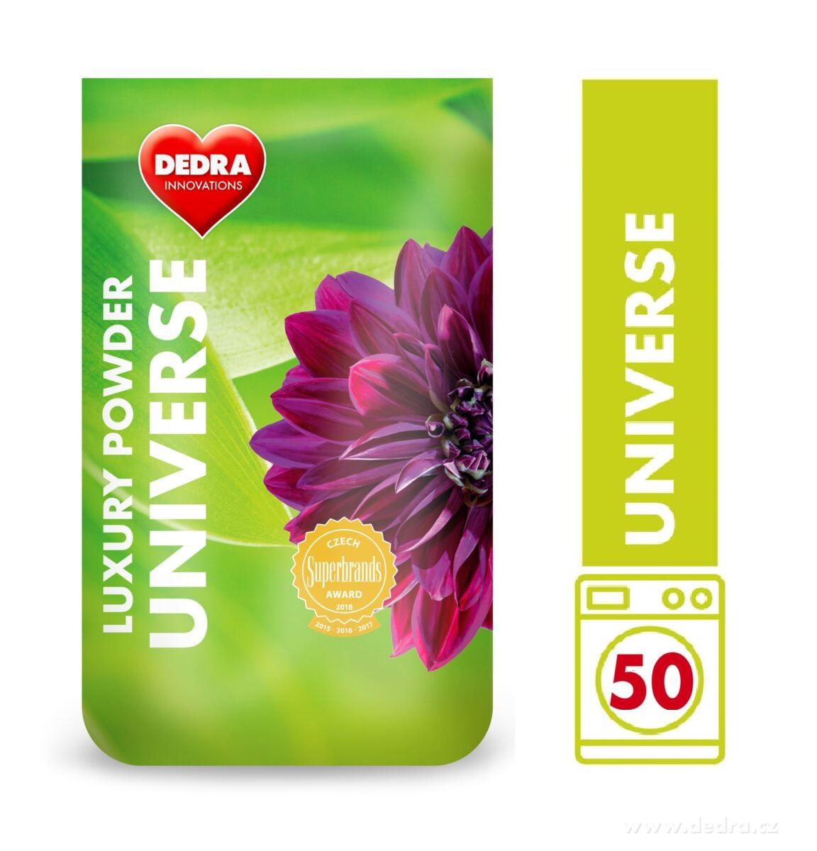 UNIVERSE univerzální prací prášek, koncetrovaný, v obalu GREENPACK