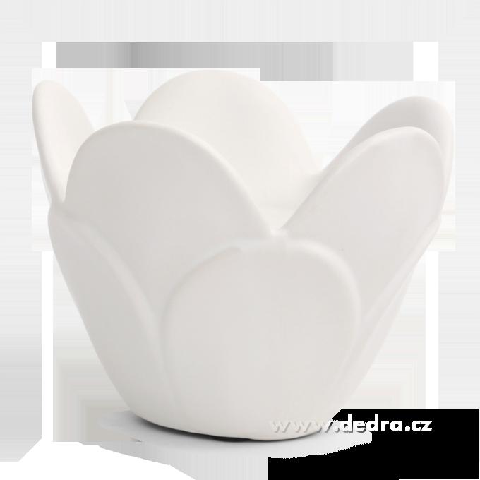 DA71971-LOTOS svietnik na čajové i veľké sviece keramika