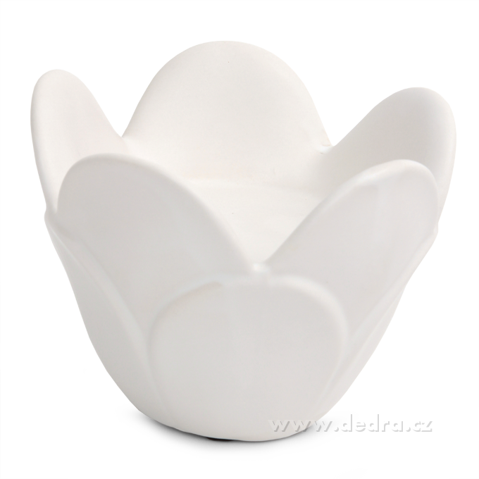 LOTOS svícen na čajové i velké svíce keramika