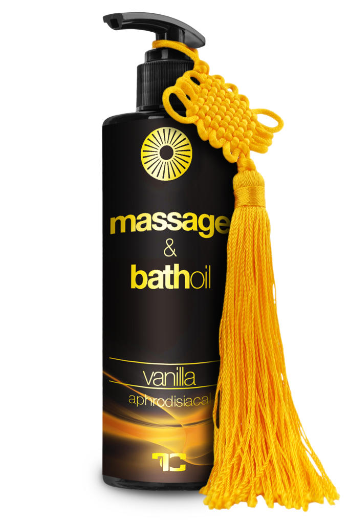 Tělový, masážní a koupelový olej VANILLA