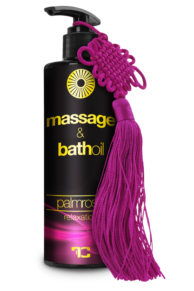 Tělový, masážní a koupelový olej PALMROSE