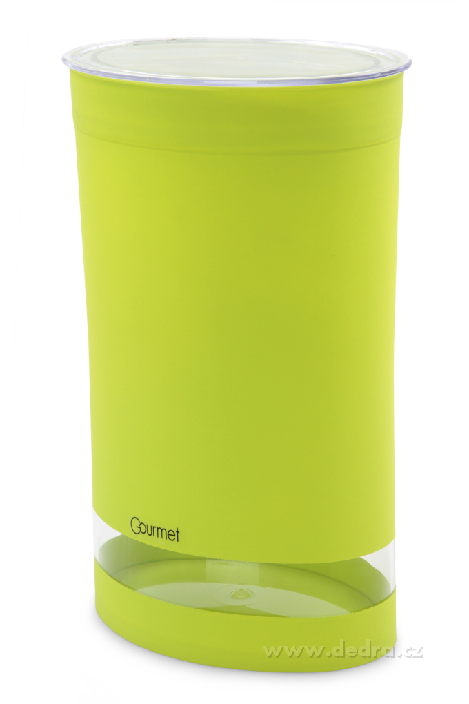 Vzduchotěsná dózaGOURMET jasně zelenáobjem 1,5 litru