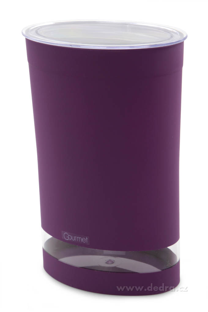 Vzduchotěsná dóza GOURMET fialová objem 1,5 litru