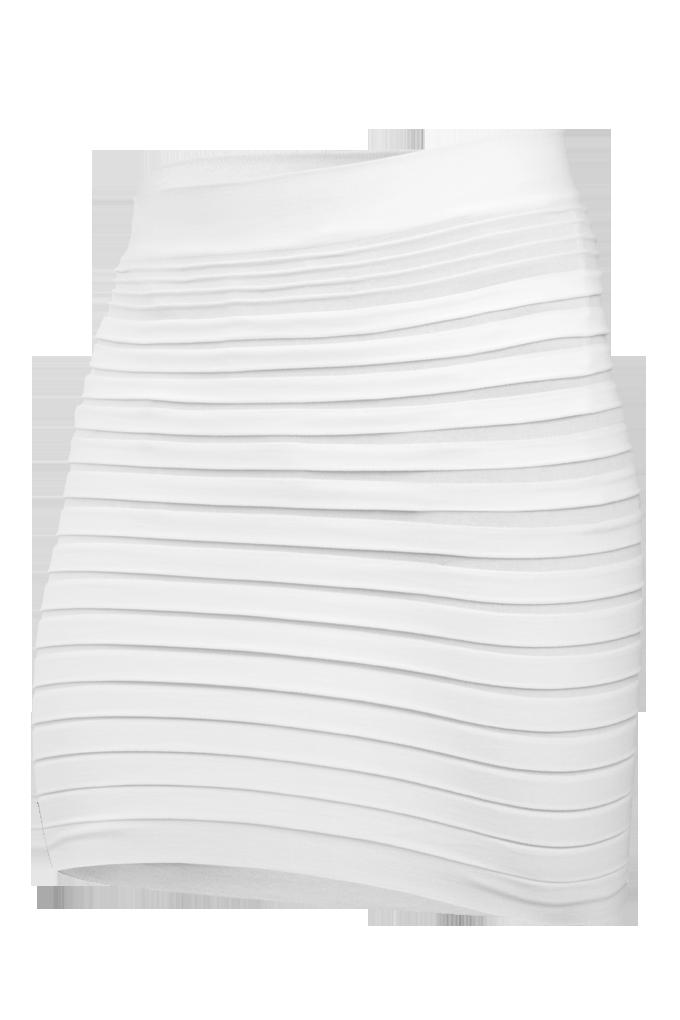 Marianne 2v1 minisukně nebo top  bílá