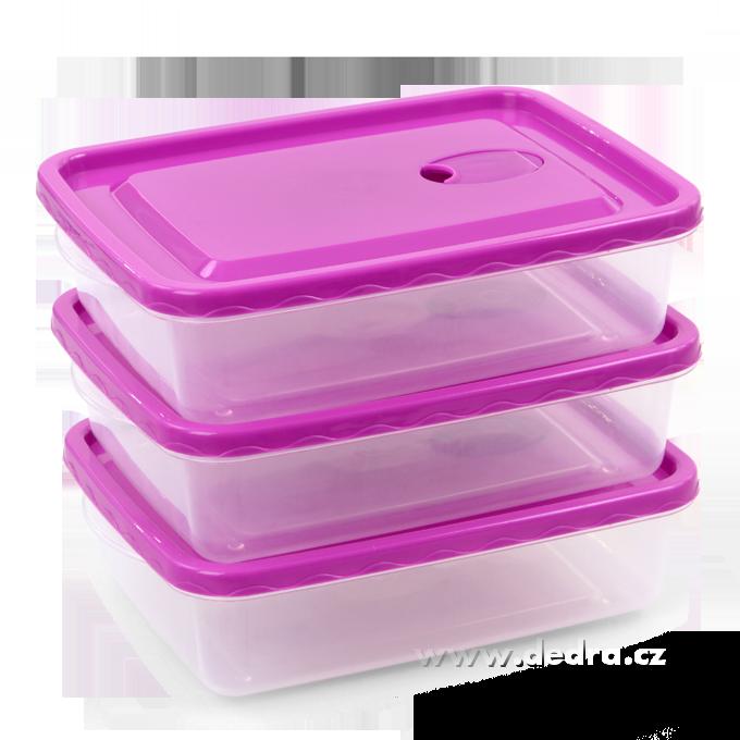 3 ks ventildóza fialové, objem 1,5 l