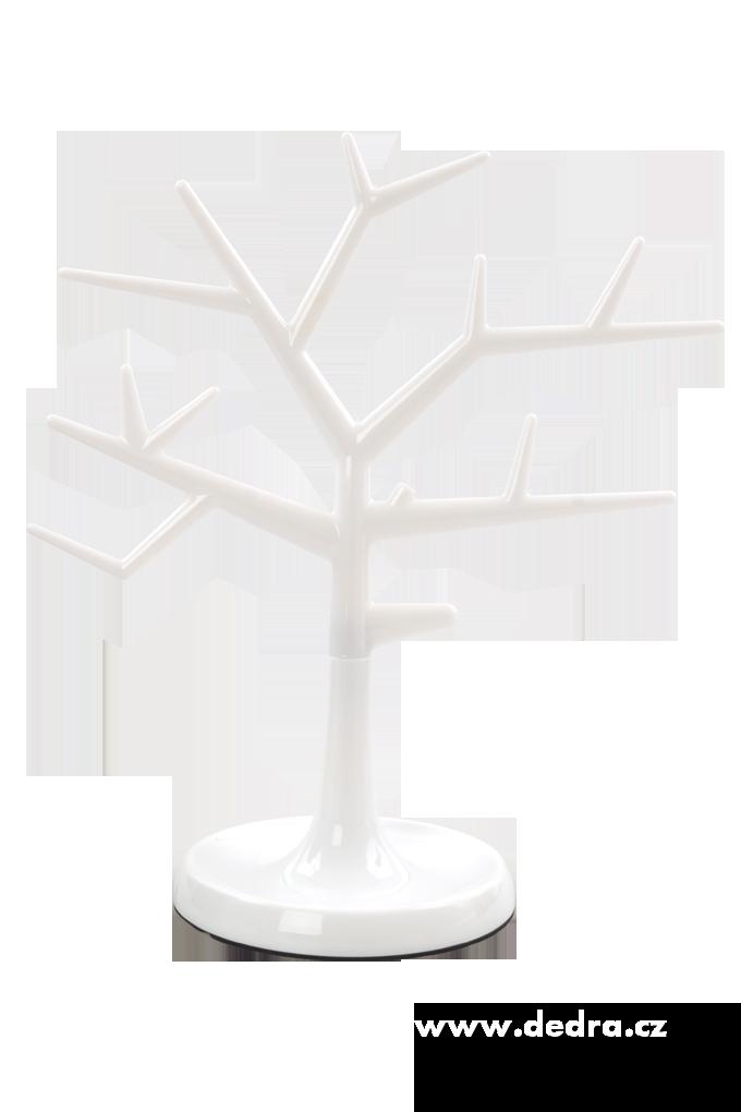 Stojan na šperkySTROM bílý