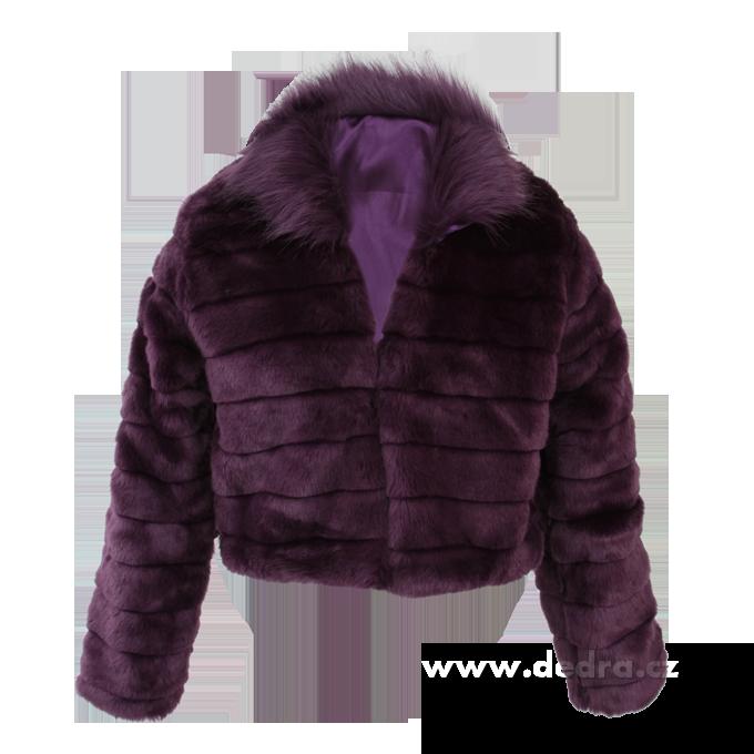 Kabátek z umělé kožešiny MOSELLE