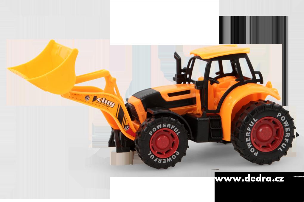 Traktor s XL radlicína setrvačník