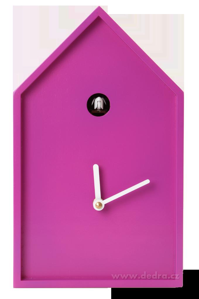 Kukačkové hodiny, fialové