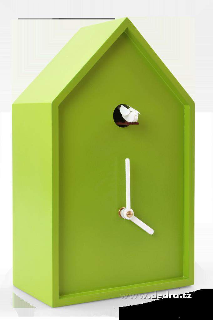 Kukačkové hodiny jasně zelené