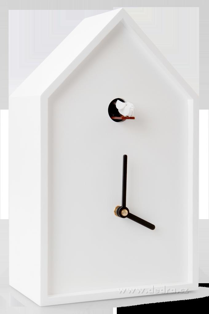 Kukačkové hodiny bílé