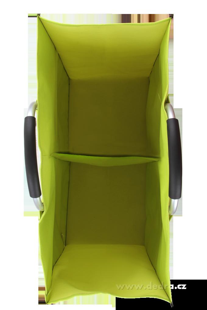 DA73791-XXL Kôš na triedenie špinavej bielizne jasne zelený