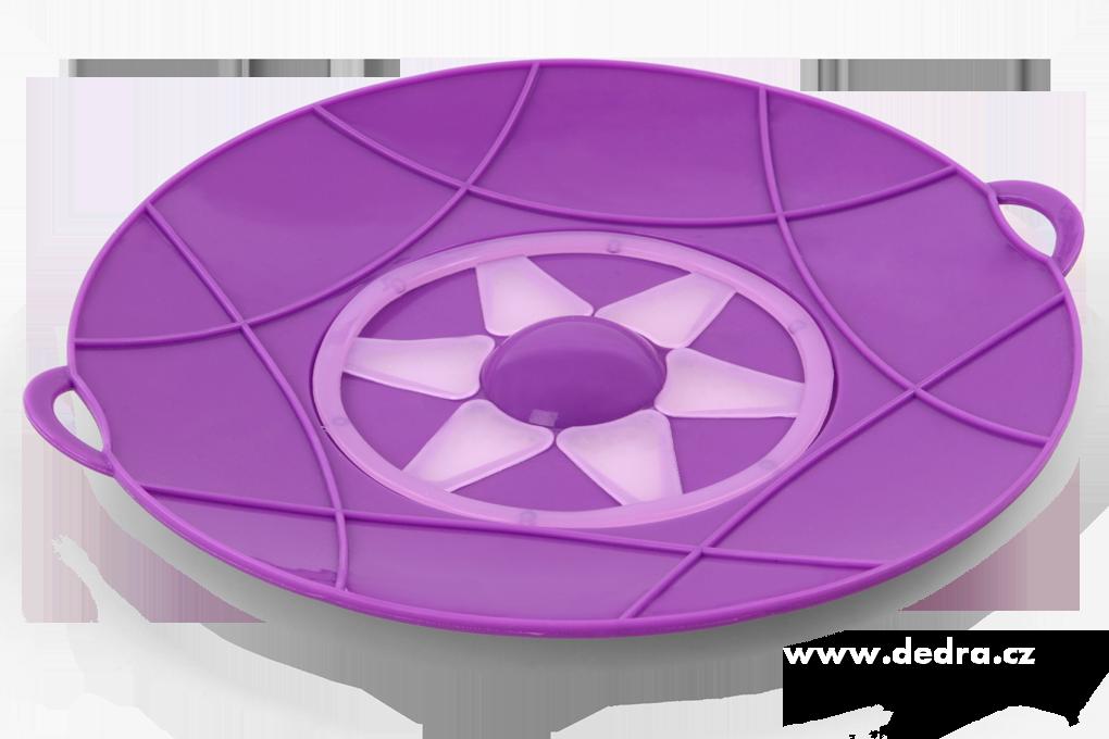 30 cm nepřetékající univerzální poklice fialová