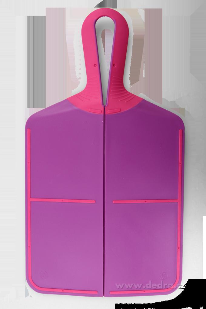 DA74392-Vychytané skladacie doštička - fialové