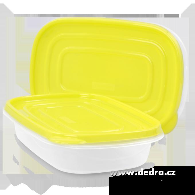 2ks BOX 950 mlžlutozelený