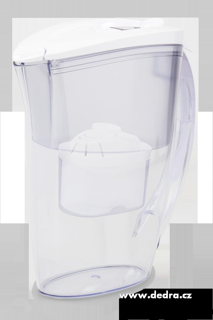 FILTRAČNÍ KONVICEelektronická 2,4 l+ vodní filtr zdarma