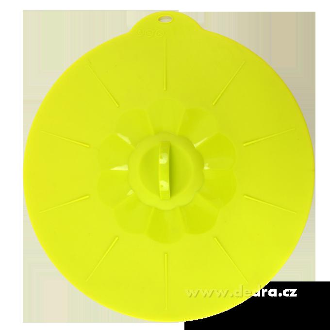 FCUCPOKLICE 27 cm silikonová poklice jasně zelená