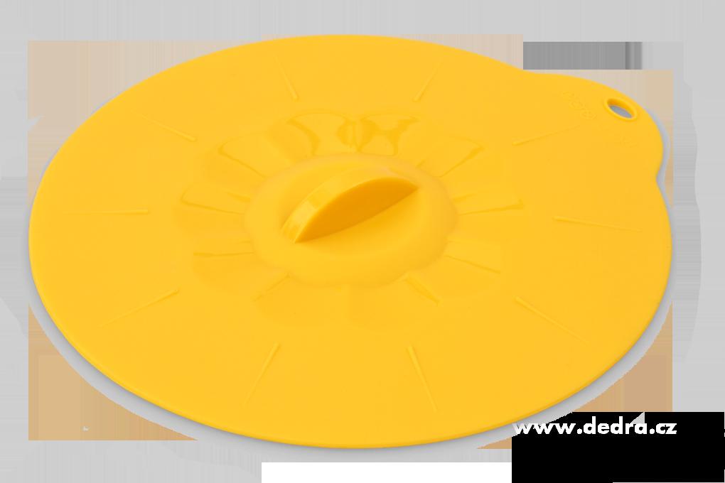 FCUCPOKLICE 17,5 cm silikonová poklice žloutková