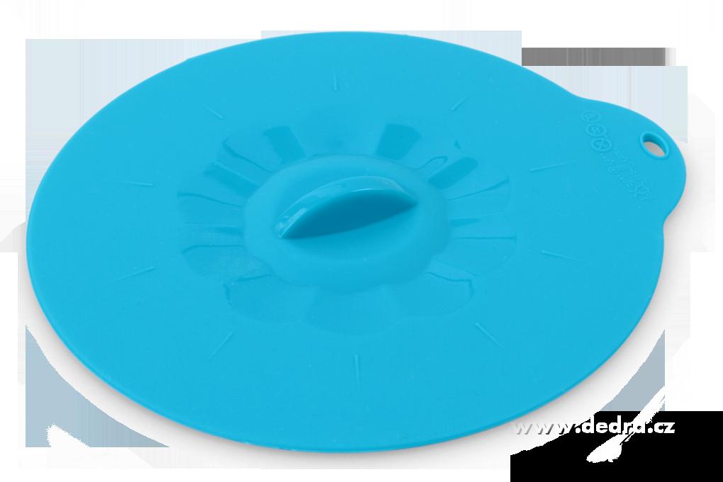 FCUCPOKLICE 10,5 cm silikonová poklice tyrkysová