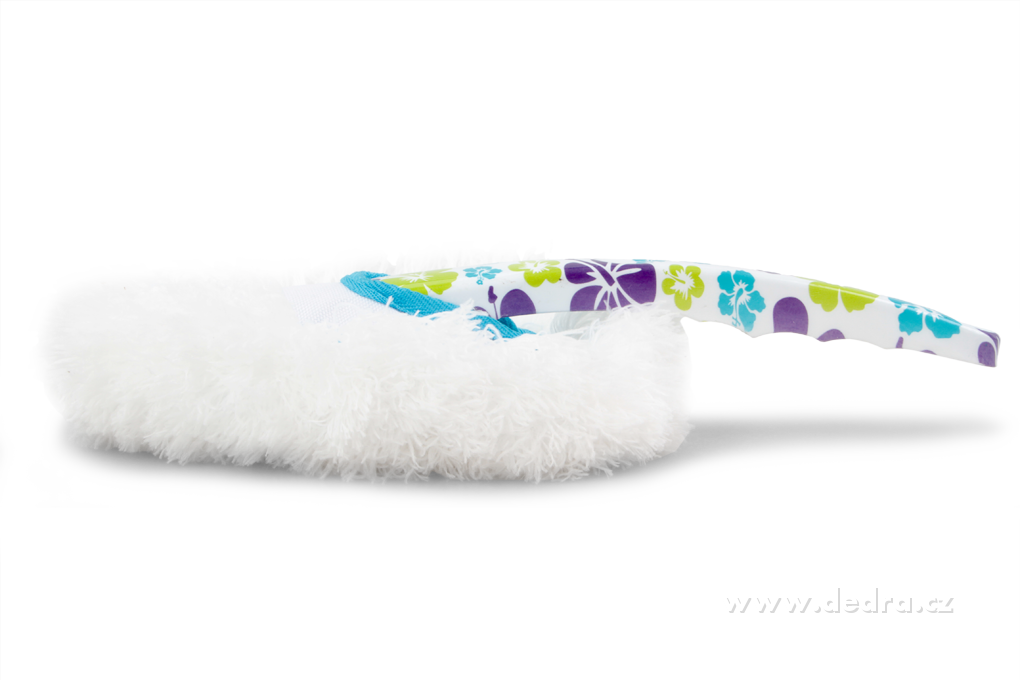 DA7512-FLOWER prachovka s hustým dlhým mikrovláknom
