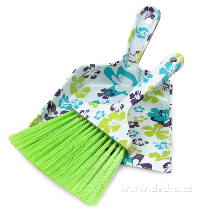 DA7516-FLOWER malý metlička s lopatkou