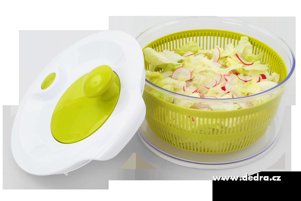 DA7555-XXL Salátoždímadlo ručné odstredivka na šaláty a zeleninu s brzdou