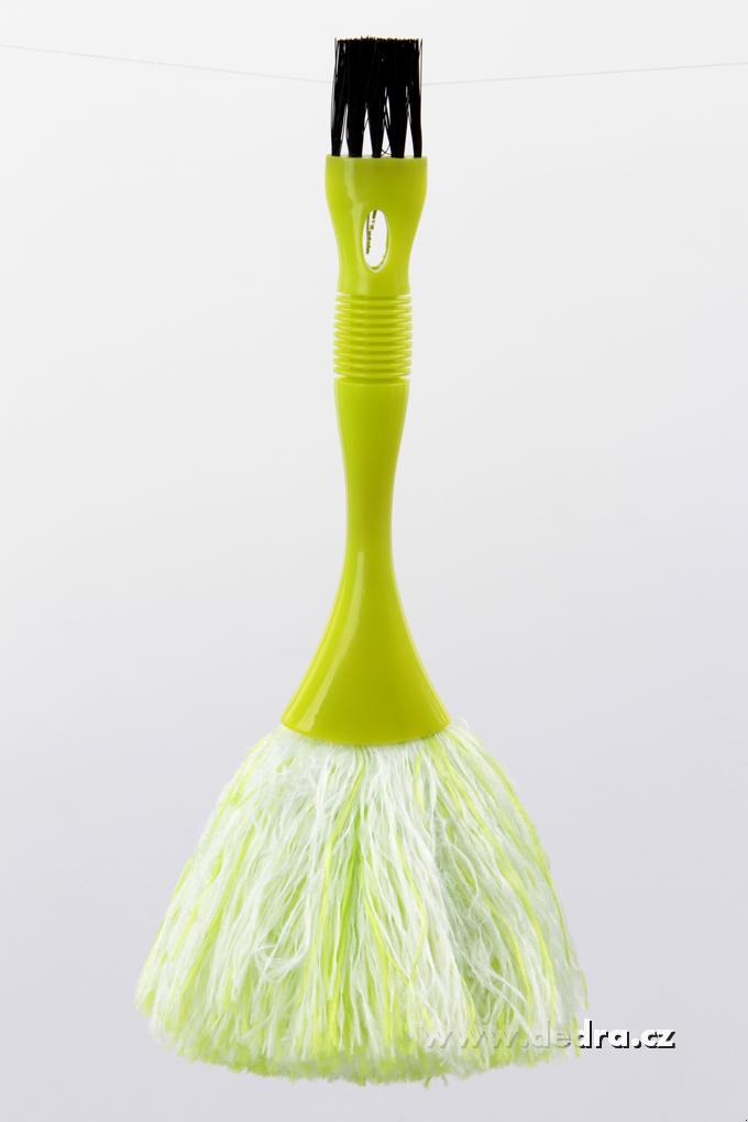 Obojstranná prachovka 2v1 zelená