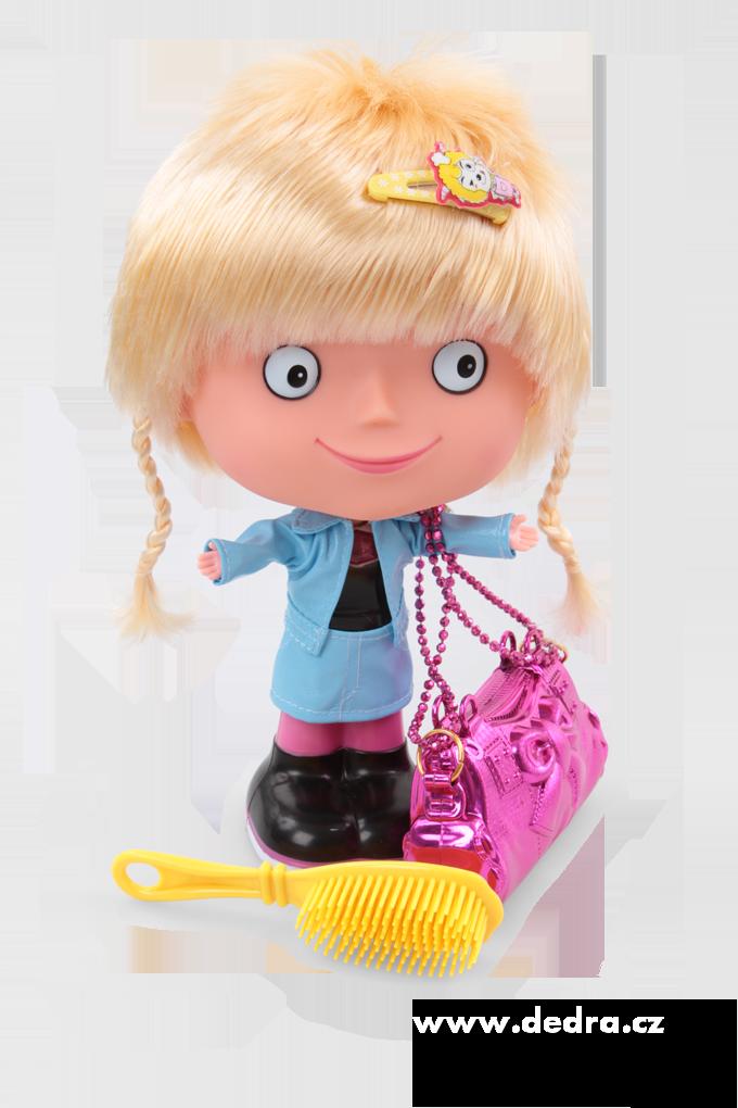 Mluvící panenka SANDRA s blond vlásky