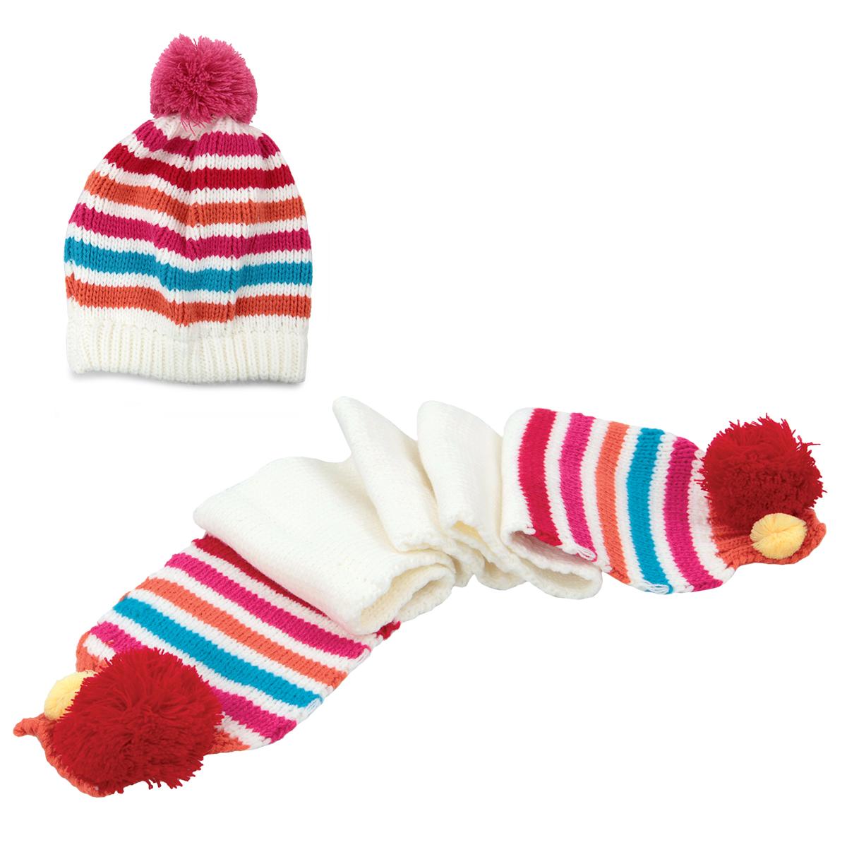 Dětská zimní sada, čepice + šála