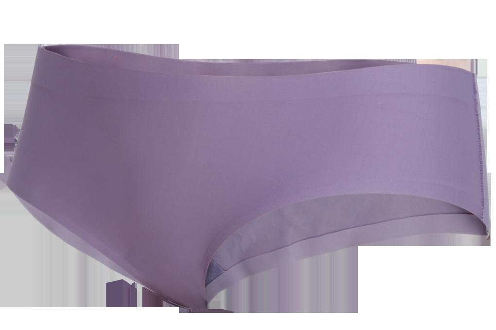Kalhotky boxerky z ledového hedvábí fialové 1 (vel.S)