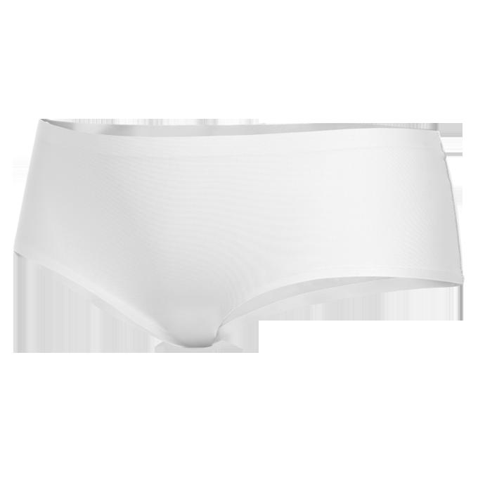 Kalhotky boxerky z ledového hedvábí bílé 1 (vel.S)
