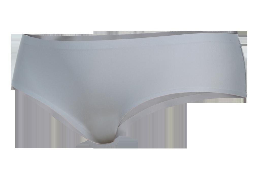 Kalhotky klasické z ledového hedvábí šedé 1 (vel.S)