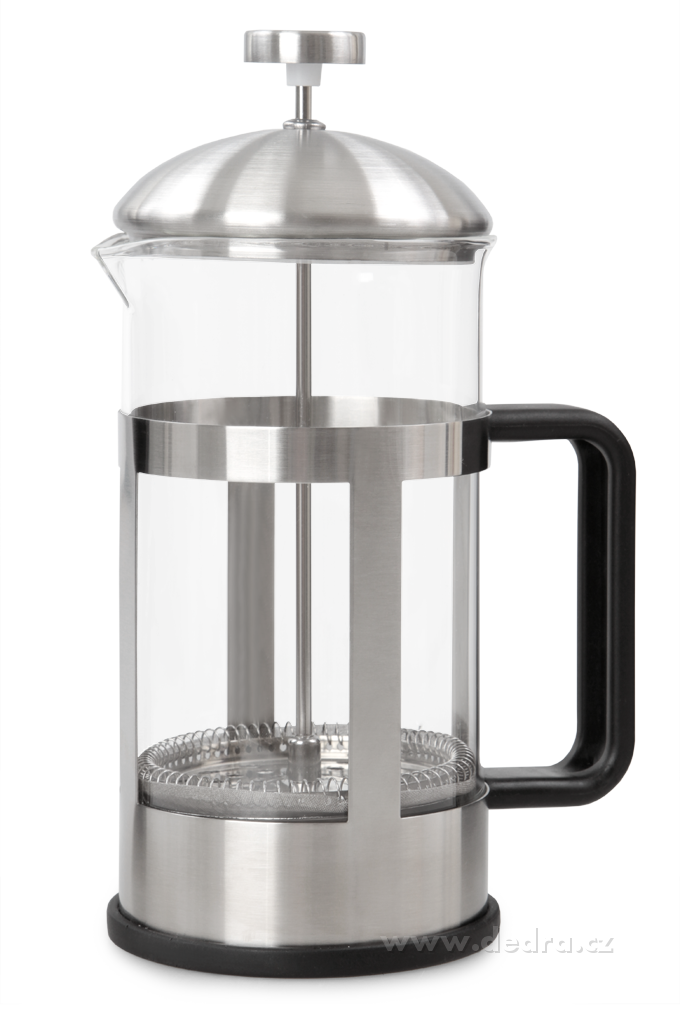 XL FRENCH PRESS konvice na čaj a kávu, nerez
