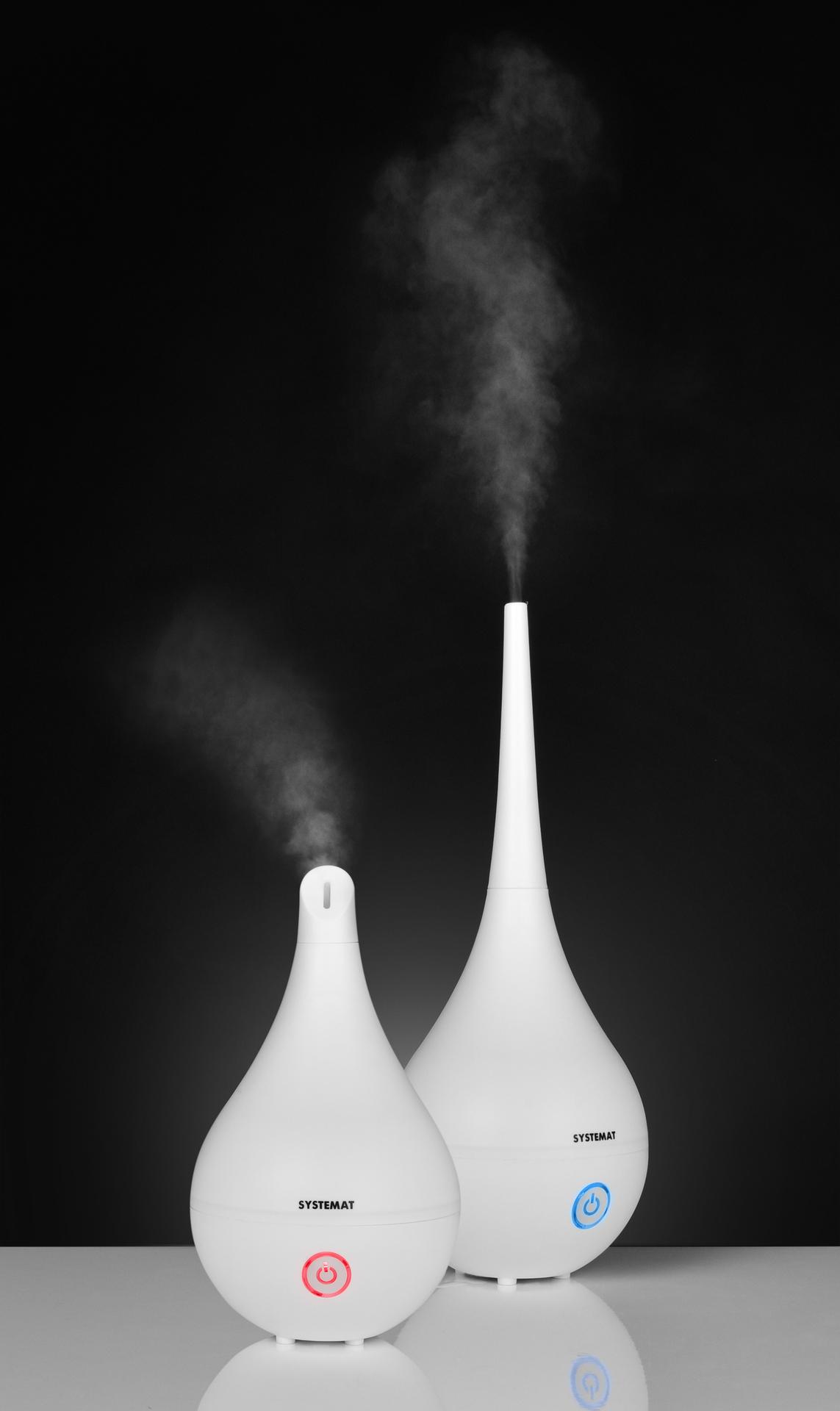 1600 ml SONICKÝ AROMADIFUSÉR ionizuje a zvlhčuje vzduch v místnosti
