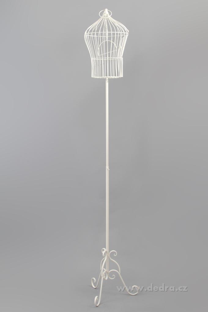 Vysoká klec, dekorativní kovová