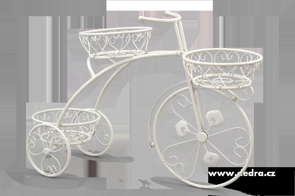 BICYKL XXL kovová dekorace se 3 podstavci