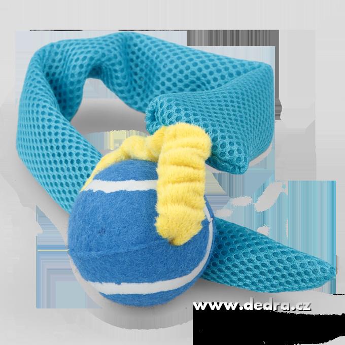 Házedlo - aportovací, hračka 2v1 modrá