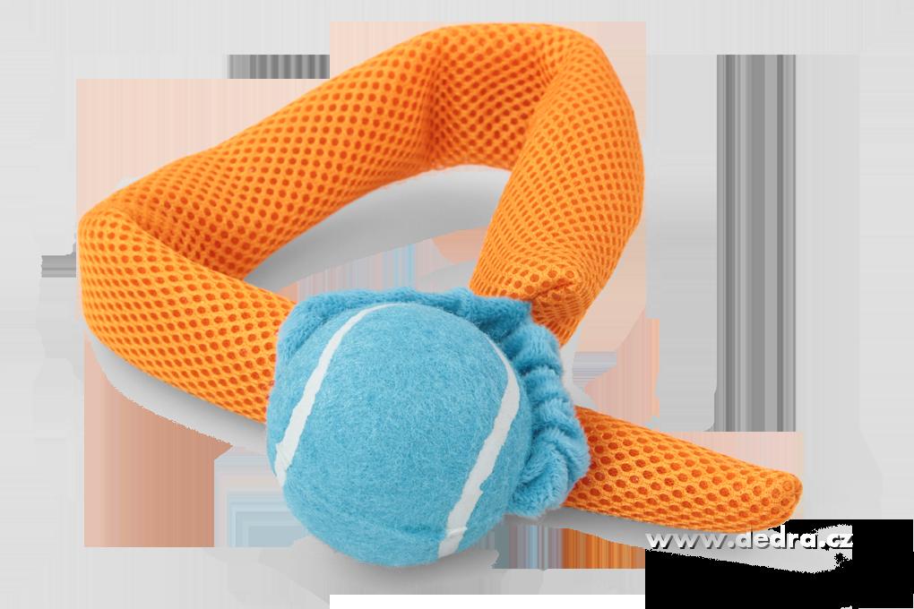 Házedlo - aportovací, hračka 2v1 oranžová