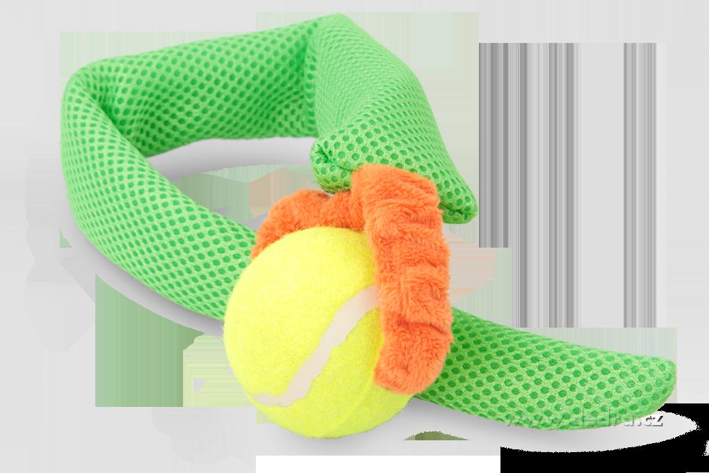 Házedlo - aportovací, hračka 2v1 zelená