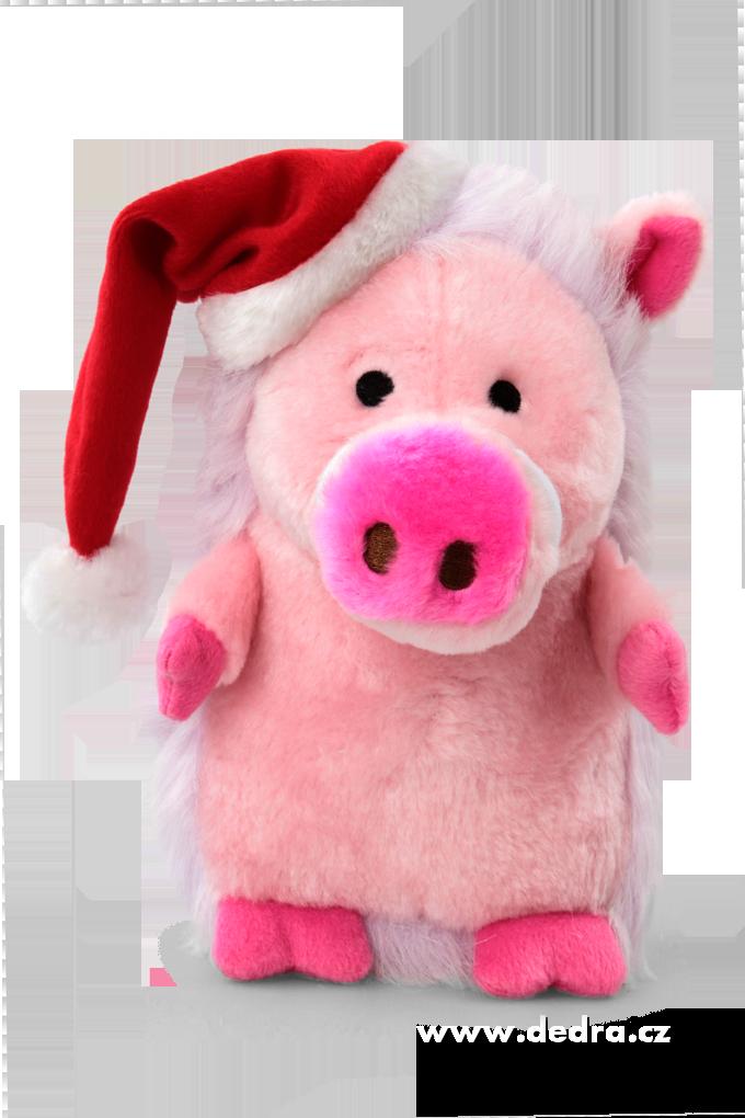 Chrochtající prase hračka pro zvířátka růžové prasátko