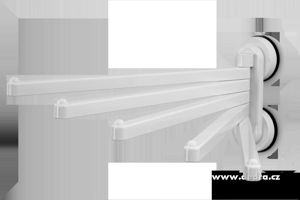 Pětiramenný otočný držák ručníků,utěrek SYSTEM60